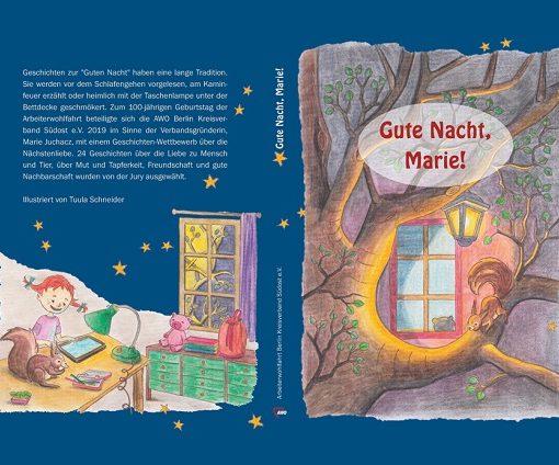 """Cover """"Gute Nacht, Marie"""" Geschichten"""