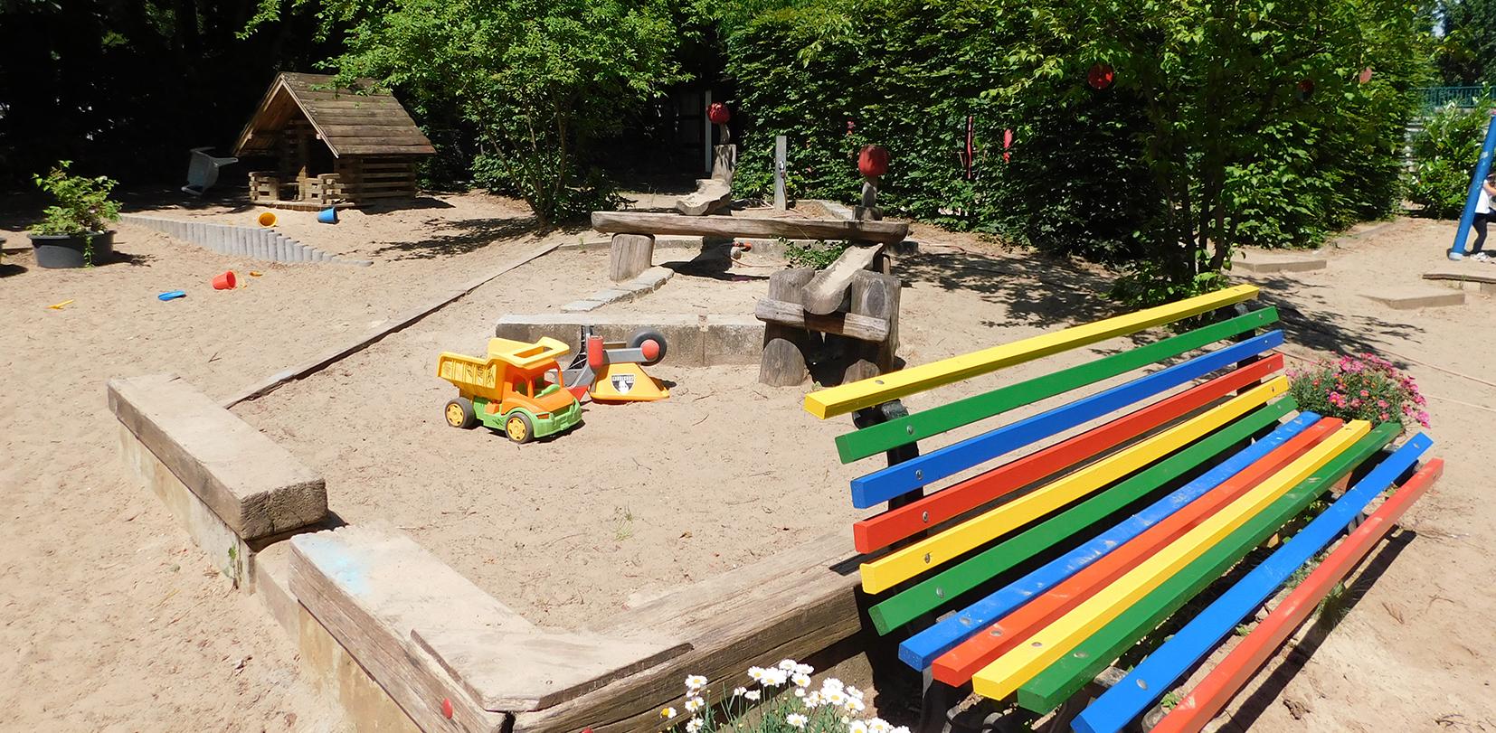 """Kita """"Schneckenhaus"""" Spielplatz"""