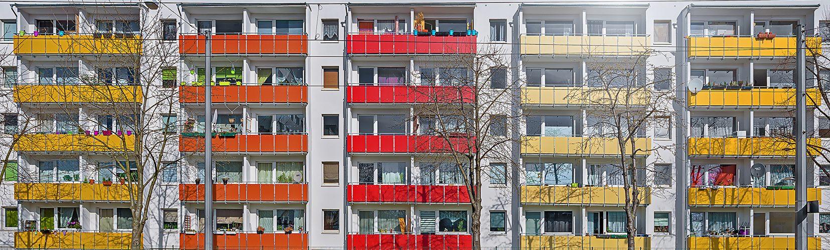 AdobeStock ©SZ Designs Wohnraum Miete Grosraumsiedlung