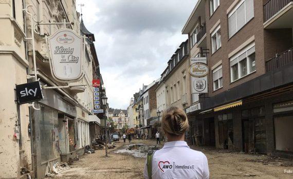 Hochwassrkatastrophe 2021 AWO international foto: Wolfgang Schuth